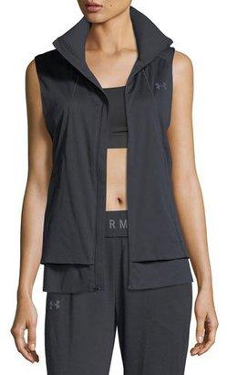 Under Armour ColdGear® Reactor Run Storm Performance Vest $149.99 thestylecure.com