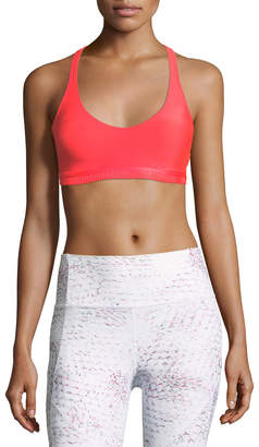 Under Armour Armour Eclipse Scoop-Neck Strappy Sports Bra