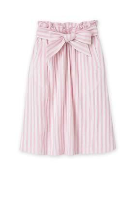 Country Road Stripe Midi Skirt