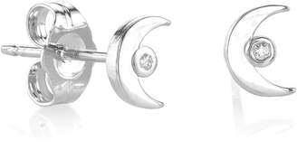 Sydney Evan Syd by Shy by SE Crescent Stud Earrings