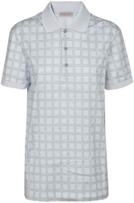 Bottega Veneta Checked Polo Shirt