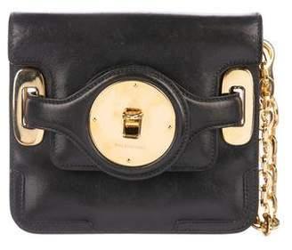 Balenciaga Black Leather Clutch