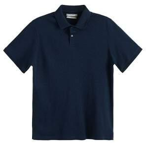 MANGO MAN Contrast-edge cotton polo shirt