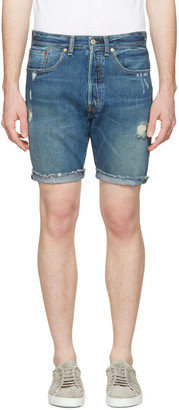 Levi's Indigo Denim 501 CT Shorts $70 thestylecure.com