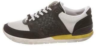 Bottega Veneta Intrecciato Trainer Sneakers