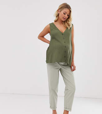 Asos DESIGN Maternity chino trousers