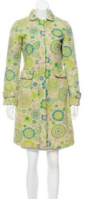 Marc by Marc Jacobs Printed Knee-Length Coat