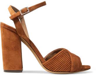 Tabitha Simmons Kali Suede Sandals - Tan