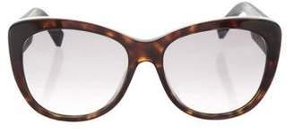 Christian Dior Embellished Cat-Eye Sunglasses