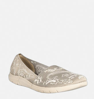 Avenue Kirstie Stitched Embroidered Slip-On
