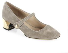 Tory Burch Marisa Mary Jane Leather Pumps