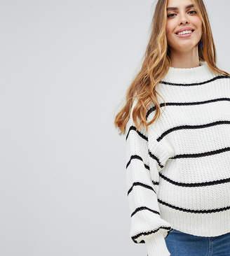New Look Maternity maternity stripe sweater