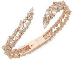 Adriana Orsini Phoebe Pavé Crystal Bangle Bracelet