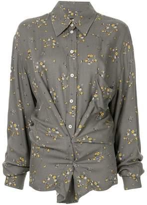 Zambesi floral stars print shirt
