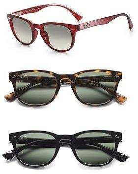 Keyhole Wayfarer Sunglasses