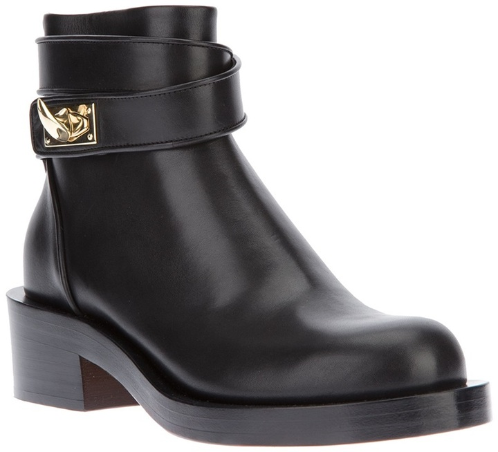 Givenchy 'Shark Lock' buckled ankle boot