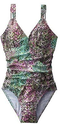 Sara Blakely ASSETS® by Women's 1-Piece Swimsuit - Snake Print