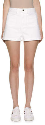 Moncler High-Waisted Shorts