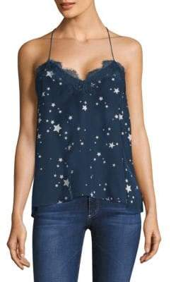 CAMI NYC Star Racer Silk Camisole