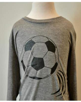 Canvas Grey/black Soccer T-Shirt