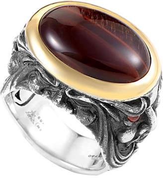 Stephen Webster 18K & Silver Garnet Ring