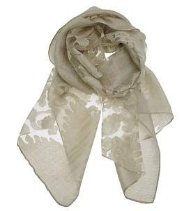 Gregory Ladner Burnout Scarf