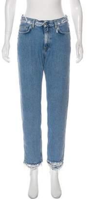 Acne Studios Mid-Rise Boyfriend Jeans