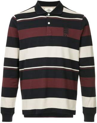 Kent & Curwen striped logo polo shirt