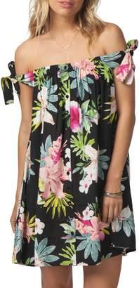 Rip Curl Sweet Aloha Off the Shoulder Dress