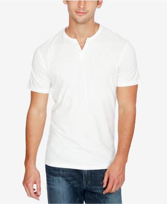 Lucky Brand Men's Split-Neck Cotton T-Shirt
