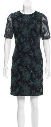 Tory Burch Floral Pattern Lace Dress