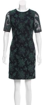 Tory Burch Floral Pattern Lace Dress