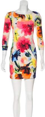 ABS by Allen Schwartz Printed Mini Dress