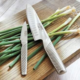 Global Hollow-Edge Chefs Knife Set