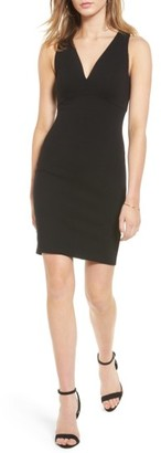 Women's Soprano Cross Back Body-Con Dress $45 thestylecure.com