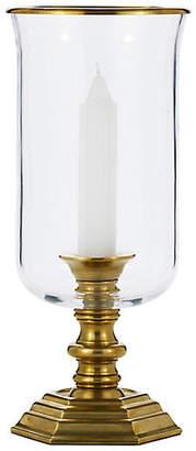 "Ralph Lauren Home Classic 14"" Hurricane - Gold/Clear"