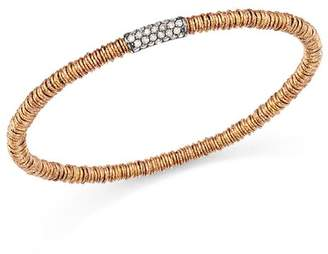 Roberto Demeglio 18K Rose Gold Joy Stretch Bracelet with Champagne Diamonds