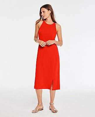 Ann Taylor Tall Halter Shift Dress