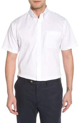 Nordstrom Traditional Fit Non-Iron Short Sleeve Dress Shirt