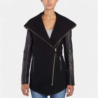 Mackage Joss High-Low Wool Jacket
