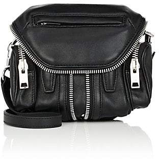 Alexander Wang Women's Micro Marti Leather Crossbody Bag