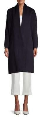Vince Classic V-Neck Coat