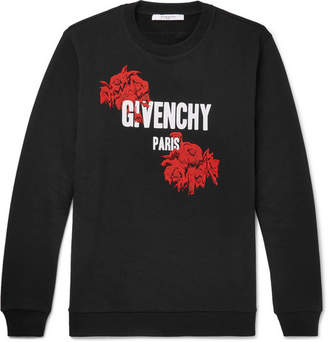 Givenchy Cuban-Fit Printed Loopback Cotton-Jersey Sweatshirt