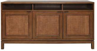 Apt2B Francisco Rattan Panel 3 Door Sideboard NATURAL