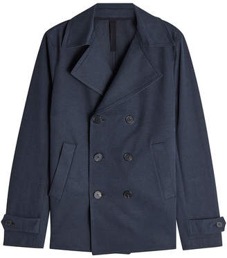 Harris Wharf London Cotton Pea Coat