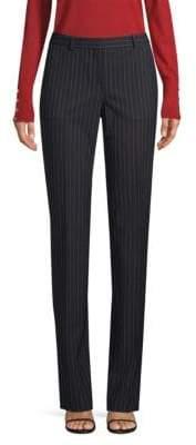BOSS Tamea Stretch Pinstripe Pants