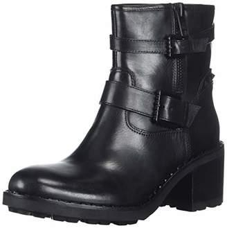 Ash Women's AS-Xenon Fashion Boot Black Gun