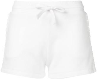 Valentino Rockstud embellished track shorts