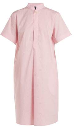 A.P.C. Agadir Cotton Shirtdress - Womens - Light Pink