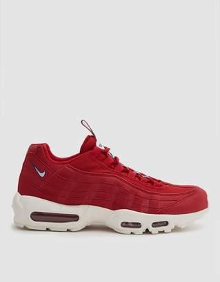 Nike Air Max 95 Tt Sneaker in Gym Red/Sail Gym Blue